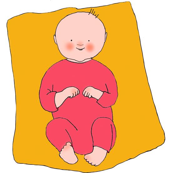 vauva-keltainen